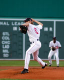 Bronson Arroyo, les Red Sox de Boston Photos stock