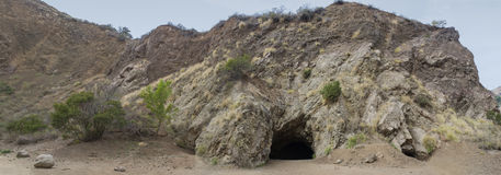 Bronson Caves Griffith Park California Arkivfoto