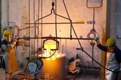 Bronsrollbesättning Royaltyfri Fotografi