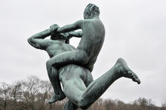 Bronsskulptur Royaltyfri Bild