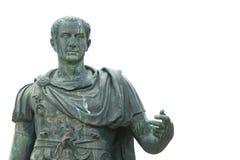Bronsstandbeeld van Julius Caesar stock fotografie