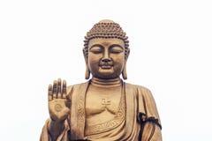 Bronsstatyer av den Sakyamuni Buddha Royaltyfri Foto