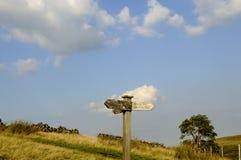 Brontë-Land-Spur Stockbild