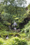 Bronte秋天, Haworth停泊 呼啸山庄, Bronte国家 约克夏 英国 免版税库存图片