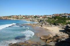 bronte пляжа к Стоковое Изображение RF