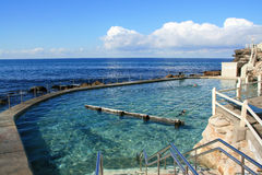 Bronte Baths Stock Image
