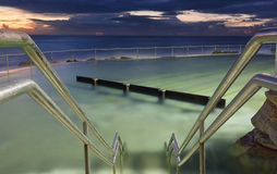 Bronte Baths at dawn, Bronte Beach, Australia Stock Image