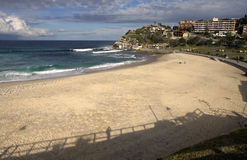 Bronte Beach. In Sydney,  is part of Nelson Bay, surrounded by Bronte Park Stock Images