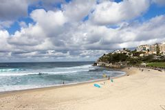 Bronte beach, Eastern suburbs, Sydney, Australia. Bronte beach in the Eastern suburbs, Sydney, Australia stock photo