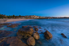 Bronte Beach at sunrise. In Bronte Sydney Australia Stock Photography