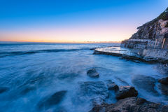 Bronte Beach at sunrise Stock Photos