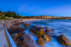 Bronte Beach at sunrise. In Bronte Sydney Australia Royalty Free Stock Photography