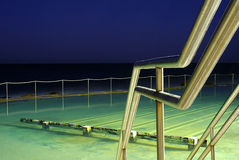 Bronte Ocean Pool at dusk Royalty Free Stock Photos