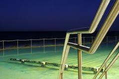 Bronte Ocean Pool at dusk Royalty Free Stock Photos