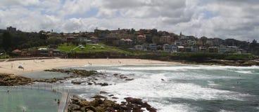 Bronte strand Royaltyfria Bilder