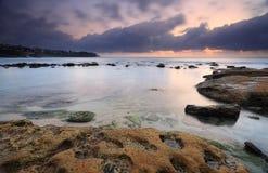 Bronte-Strand an der Dämmerung Stockfoto