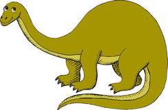Brontosaurus Stock Photo