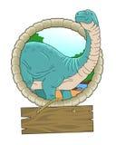 Brontosaurus Stock Image