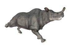 Brontotherium ou animal do trovão Foto de Stock