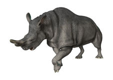 Brontotherium or Thunder Beast Stock Image