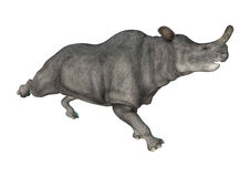 Brontotherium or Thunder Beast Stock Photo