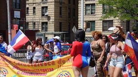 The 2016 Bronx Dominican Day Parade 1 Stock Image