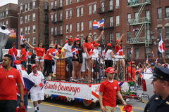 The 2015 Bronx Dominican Day Parade 89 Stock Photo