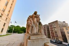 Bronx-Grafschafts-Gericht - New York City lizenzfreie stockbilder