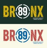 Bronx, image de vecteur Illustration Stock
