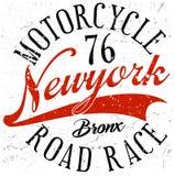 Bronx New York sport typography; t-shirt graphics; vectors Royalty Free Stock Photo