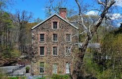 Bronx, NY: 1840 Old Stone Mill Stock Images