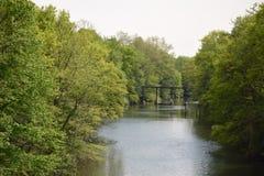 Bronx River lizenzfreie stockfotos