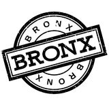 Bronx rubber stamp Stock Images