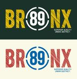 Bronx, Vector image Stock Photo