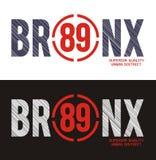 Bronx, Vector image. Bronx, T shirt Graphic, Vector Image Royalty Free Stock Photography