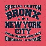 Bronx vintage stamp Royalty Free Stock Image