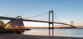 Bronx Whitestone Bridge royalty free stock photography