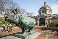 Bronx Zoo Building Stock Photography