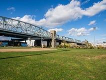 Bronx zwłoki most fotografia stock