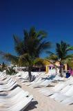 Bronzage dans les Caraïbe Photographie stock