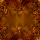 Bronze Abstract Background royalty free illustration