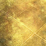 Bronze abstract pattern. A softly lit abstract square pattern on a piece of bronze royalty free illustration