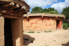 Free Bronze Age Houses Cyprus Stock Photography - 32603792