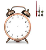 Bronze Alarm Clock Royalty Free Stock Photography