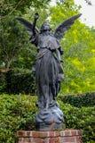 Bronze Angel stock photo