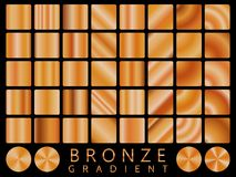 Bronze background texture vector icon seamless pattern. Light, realistic, elegant, shiny, metallic and bronze gradient illustratio royalty free illustration