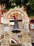 Bronze Bell, The Great Meteoron Monastery, Meteora, Greece Royalty Free Stock Image