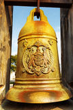 The bronze bell in the Monte Fort of Macau Royalty Free Stock Image