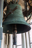 Bronze Bell on top of San Marco's Tower in Venice, Italy Royalty Free Stock Image