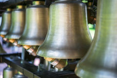 Bronze bells Royalty Free Stock Photo